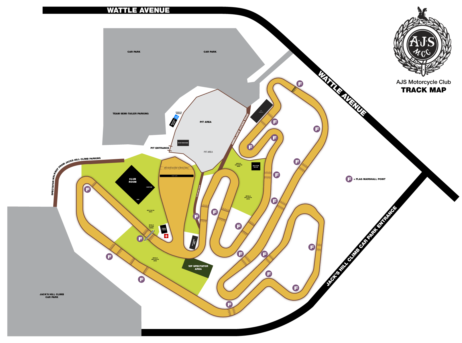 AJS Track Map